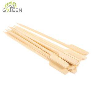Natural Flat Kebab Bamboo Skewer/Bamboo Gun Skewers