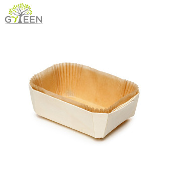 Eco-Friendly Biodegradable Disposable Wood Baking Mould