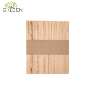 Eco-Friendly Disposable Wooden Coffee Stirrer for Vending Machine Use