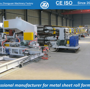 Continuous automatic PU sandwich panel line with ISO quality system | ZHONGYUAN