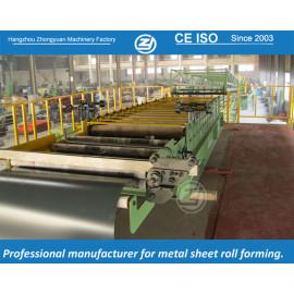 Máquina continua de formación de panel sándwich de PU con sistema de calidad ISO | ZHONGYUAN