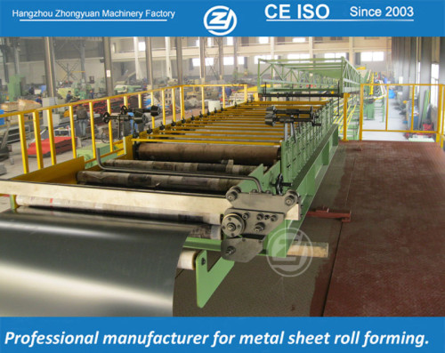 Continuous automatic PU sandwich panel forming machine with ISO quality system | ZHONGYUAN