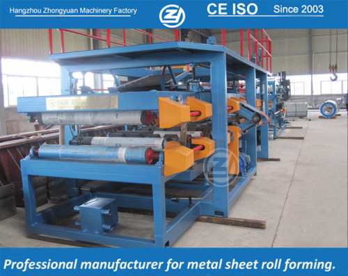 Continuous EPS sandwich panel line with ISO quality system and CE certificate | ZHONGYUAN