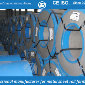 Galvanized steel coil | ZHONGYUAN forming machine