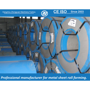 Bobina de aço galvanizado | ZHANGYUAN dá forma à máquina