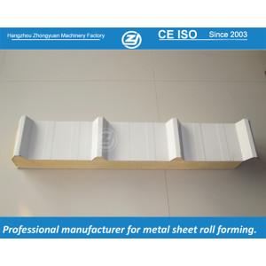 Panel de techo sandwich PU | ZHANGYUAN que forma la máquina
