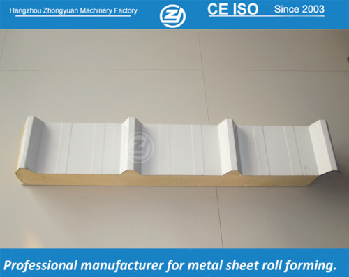 PU sandwich roof panel  | ZHONGYUAN forming machine