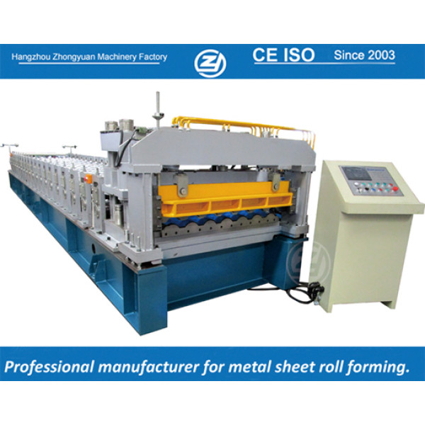 European standard customized step tile roll forming machines factory with ISO quality system | ZHONGYUAN