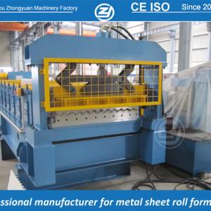Fabricante de máquina perfiladeira de chapas onduladas de padrão europeu com sistema de qualidade ISO, fornecimento de serviço de tempo de vida | ZHANGYUAN