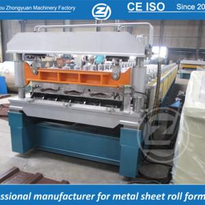 Estándar europeo personalizado RN-100-35 perfilador de perfiles que forma la máquina manuafaturer con sistema de calidad ISO | ZHONGYUAN