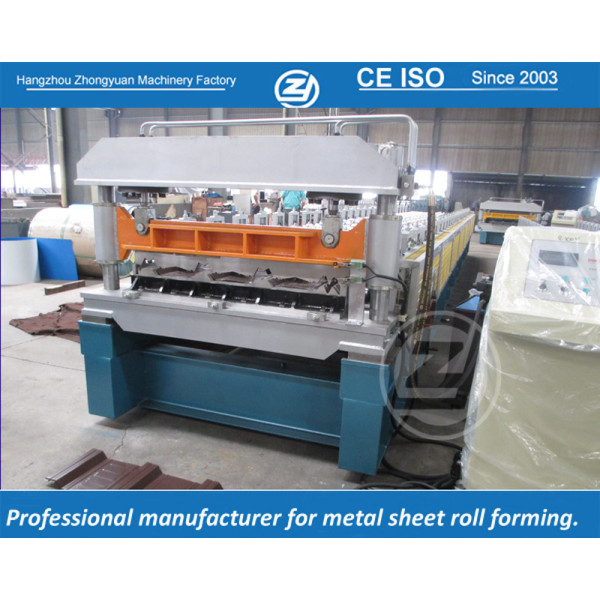 European standard customized RN-100/35 profile roll forming machine manufacturer with ISO quality system    ZHONGYUAN