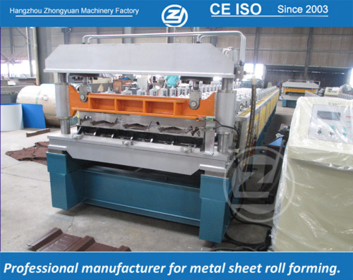 European standard customized RN-100/35 profile roll forming machine manufacturer with ISO quality system  | ZHONGYUAN
