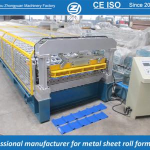 Rollo largo de aluminio personalizado estándar europeo que forma la máquina manuafaturer con sistema de calidad ISO | ZHANGYUAN