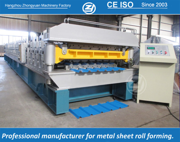 European standard customized America AG & Rib profile double layer machine manufacturer with ISO quality system | ZHONGYUAN