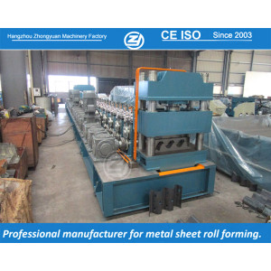 European standard customized guardrail roll forming machine | ZHONGYUAN