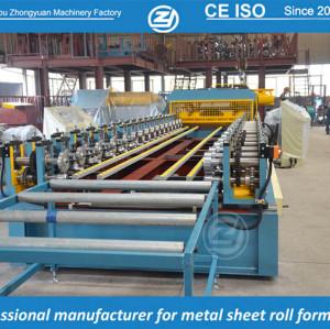 Certificado CE & SGS linha personalizada rolo formando máquina manuafaturer com sistema de qualidade ISO | ZHANGYUAN