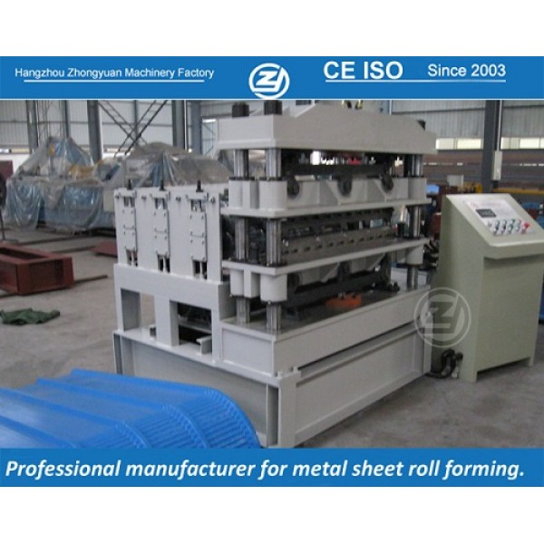 CE certificate customized crimping roll forming machines manuafaturer with ISO quality system   ZHONGYUAN