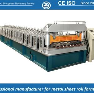 Estándar europeo personalizada chapa de revestimiento de metal que forma la máquina manuafaturer con sistema de calidad ISO | ZHANGYUAN