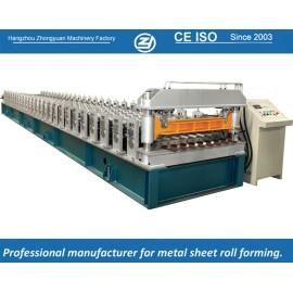 Padrão europeu personalizado rolo de revestimento de metal dá forma à máquina manuafaturer com sistema de qualidade ISO | ZHANGYUAN