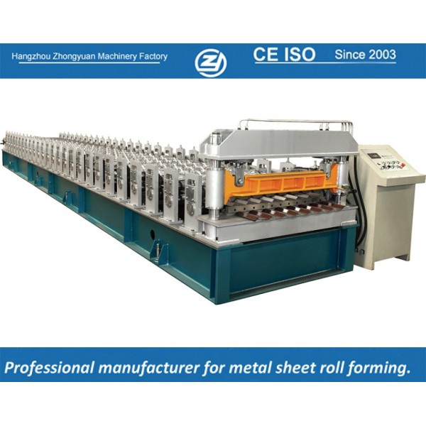 European standard customized R101  Metal Cladding Roll Forming Machine manufacturer with ISO quality system   ZHONGYUAN