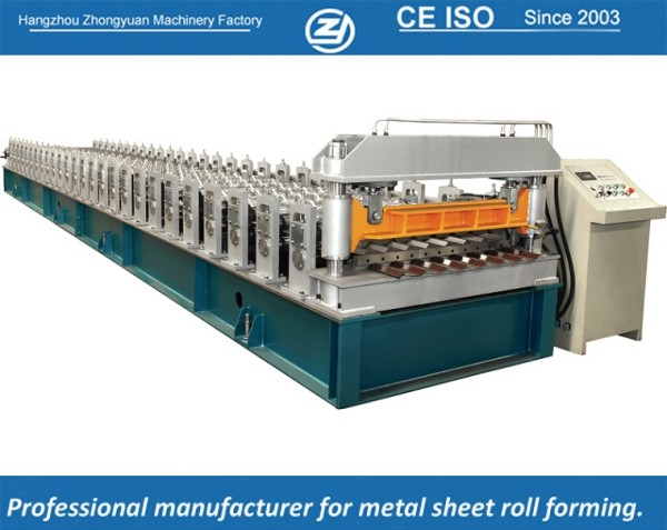 European standard customized R101  Metal Cladding Roll Forming Machine manufacturer with ISO quality system | ZHONGYUAN