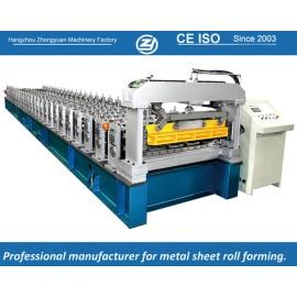 Estándar europeo personalizado Trapezoidal hojas que forman la máquina manuafaturer con sistema de calidad ISO | ZHANGYUAN