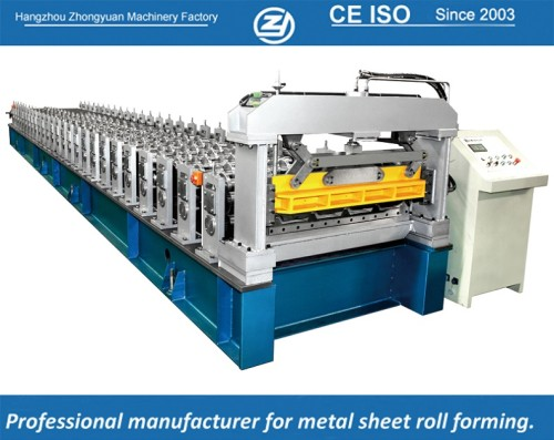 European standard customized Trapezoidal sheets forming machine manuafaturer with ISO quality system | ZHONGYUAN