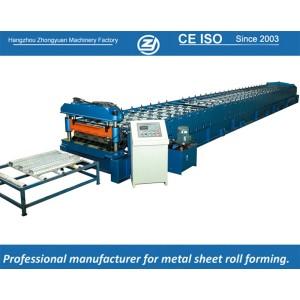 Máquina de prensagem personalizada de rolos de plataforma padrão europeu manuafaturer com sistema de qualidade ISO | ZHANGYUAN