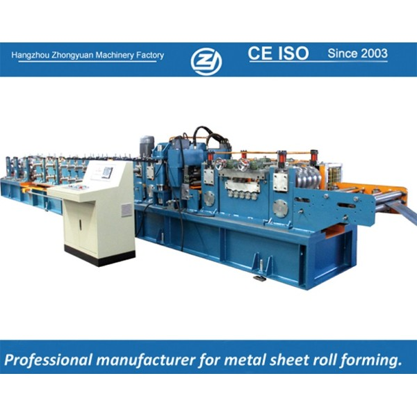European standard customized &Automatic C Purlin Forming Machine with ISO quality system   ZHONGYUAN