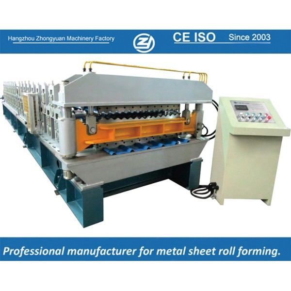 European standard customized European Style Doube layer Machine manuafaturer with ISO quality system   ZHONGYUAN