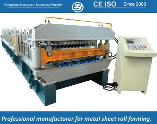European standard customized European Style Doube layer Machine manuafaturer with ISO quality system | ZHONGYUAN
