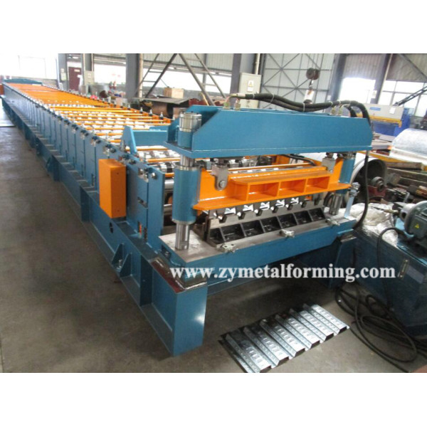 European standard customized losacero roll forming machine manufacturer with ISO quality system   ZHONGYUAN