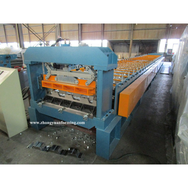 Taiwan quality factory customized losacero roll forming machine manufacturer with SGS inspection   ZHONGYUAN