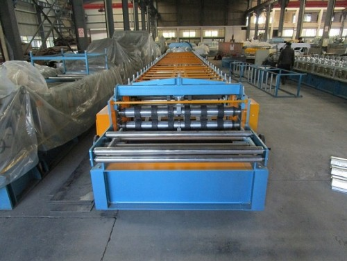 Taiwan quality factory customized losacero roll forming machine manufacturer with SGS inspection | ZHONGYUAN
