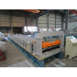 Fábrica europea estándar modificada para requisitos particulares fabricante de la máquina de la formación del rollo del perfil RN-100/35 con la inspección del SGS | ZHONGYUAN
