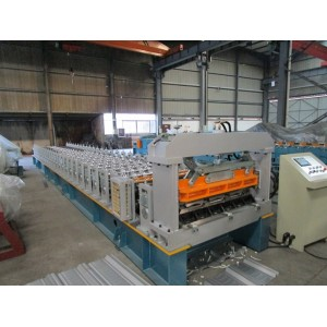 Taiwan Quality customized RN-100-35 profile roll forming machine manufacturer with SGS Inspection   | ZHONGYUAN