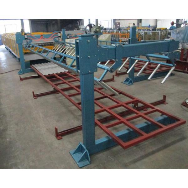 Taiwan Quality European standard T18+T35 profile double layer machine manufacturer with CE certificate | ZHONGYUAN