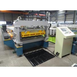 Caixa de velocidades de transmissão de alta velocidade personalizado alumínio passo telha rolo formando máquinas fábrica com sistema de qualidade ISO | ZHONGYUAN