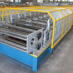 European standard T18+T35 profile double Layer roll forming machine with CE certificate