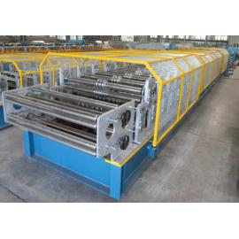 Rollo de la capa doble del perfil del estándar europeo T18 + T35 que forma la máquina con el certificado del CE