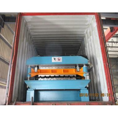 Delivery of high speed AG Profile Roll Forming Machine To USA On November 02,2018