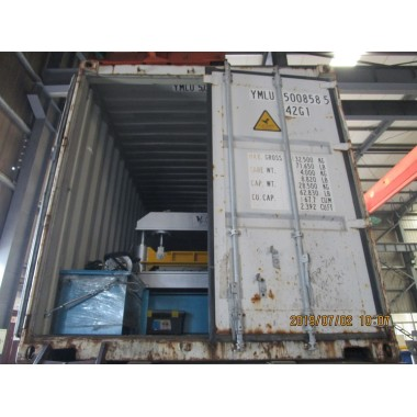 Delivery of AG profile roll forming machine on July 02,2019
