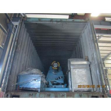 Delivery of Zhongyuan 15T hydraulic decoiler on August 02,2019