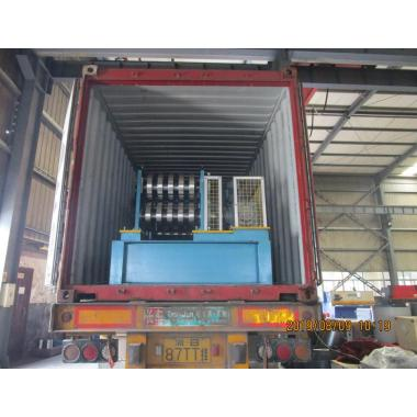 Delivery of Zhongyuan Automatic CZ purlin roll forming machine on August 09,2019