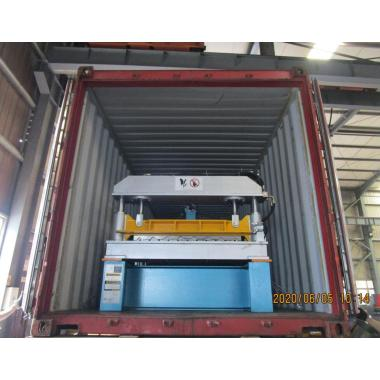R101 panel roll forming machine delivered on June 05,2020