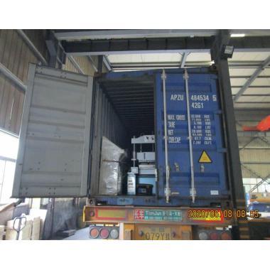 Tile roll forming machine delivered on June 08,2020
