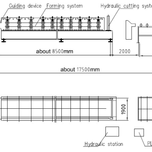 European standard customized aluminium long span roll forming machine manufacture with ISO quality system  | ZHONGYUAN