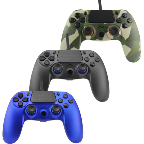 PS4 wired controller for Playstation 4, professional usb PS4 wired gamepad for PlayStation 4/PS4 Slim/PS4 Pro cable