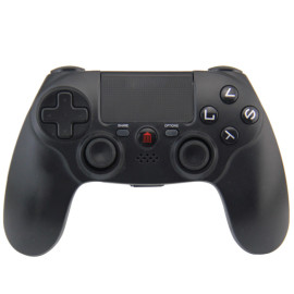 PS4 Controller, Sades C200 Wireless Bluetooth Gamepad DualShock 4 Controller for PlayStation 4 Touch Panel Joypad with Dual Vibration Game Remote Control Joystick