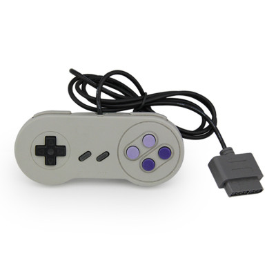SNES USB Super Classic Controller Gamepad, SNES USB PC Wired Game Controller Joystick for Windows PC Mac Raspberry Pi